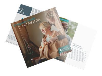 The Complete Guide to Dementia for Caregivers Cover
